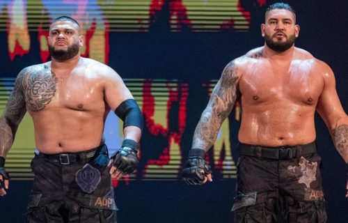 WWE releases the Authors of Pain (AOP) -- Akam & Rezar