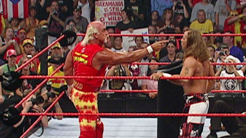 Shawn Michaels and Hulk Hogan