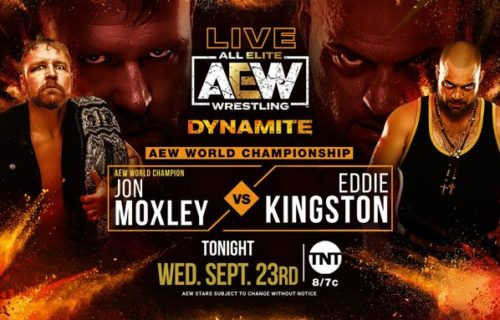Lance Archer out with COVID; World Championship on the line on AEW Dynamite