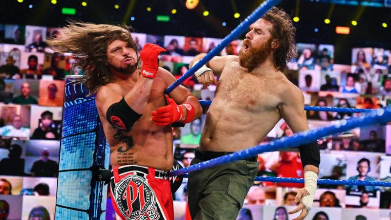 AJ Styles Sami Zayn WWE