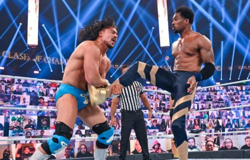 Angel Garza possibly suffered injury at WWE Clash Of Champions
