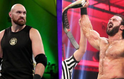 WWE possibly planning Drew McIntyre vs Tyson Fury
