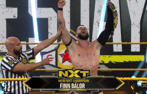 Finn Balor is the new NXT Champion
