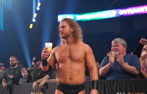 Adam Page reveals he felt underserving to be in AEW World Title match