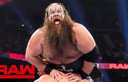 Ivar of Viking Raiders suffers possible injury on RAW