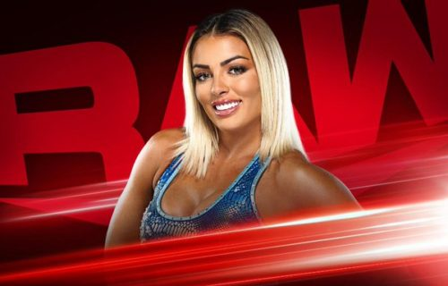 Mandy Rose moved to Monday Night RAW thanks to The Miz