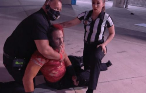 Matt Hardy taken to hospital following AEW All Out match