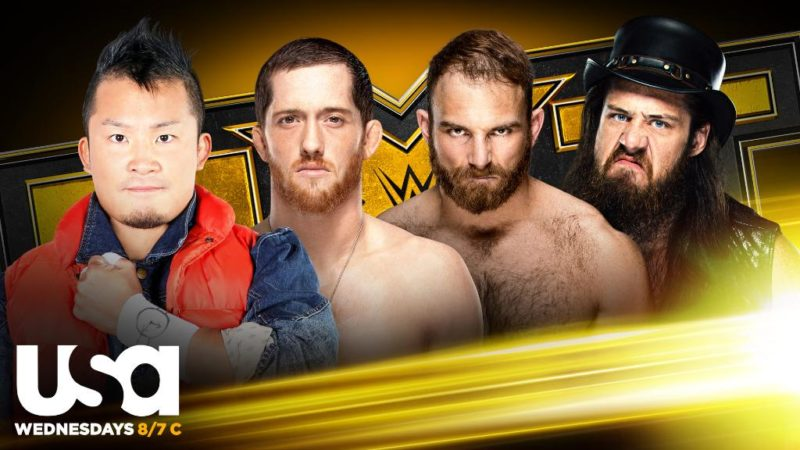 NXT Gauntlet Eliminator Cameron Grimes Timothy Thatcher Kushida Kyle O'Reilly