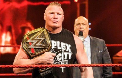 Brock Lesnar Reason For 'Missing' WrestleMania Leaks