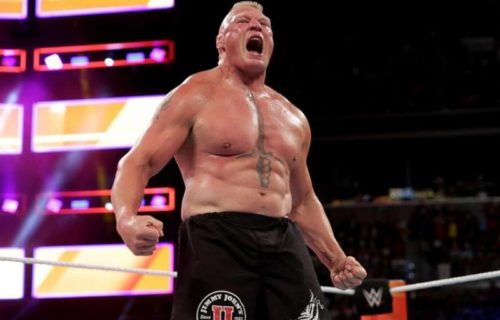 Brock Lesnar 'Buried' By Raw Star In Photo