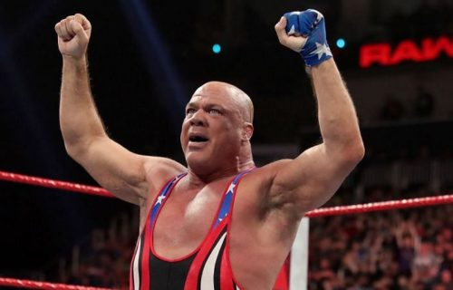 Kurt Angle talks about a future appearance in AEW