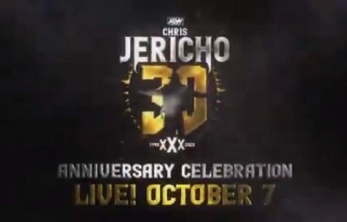 """Three big matches set for """"30 Years of Jericho"""" edition of AEW Dynamite"""