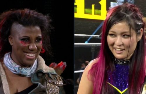 Io Shirai, Ember Moon start social media war of words after NXT TakeOver