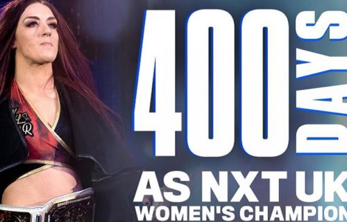 Kay Lee Ray reaches milestone as NXT UK women's champion