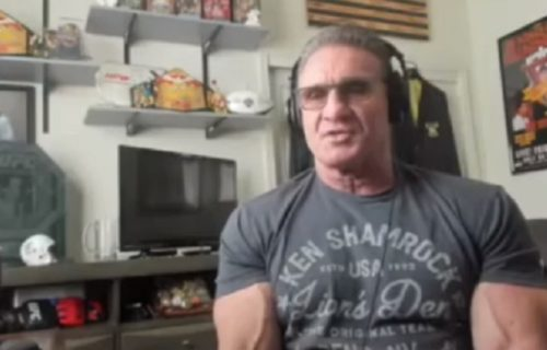 Ken Shamrock wants Goldberg match, talks Angle/Hager using his finisher