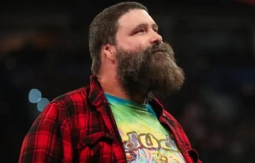 Mick Foley tested positive for COVID-19