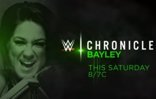WWE Chronicle: Bayley premieres on WWE Network this Saturday, Oct. 24
