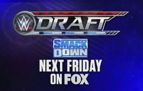 Big matches set for WWE Draft edition of SmackDown next Friday night