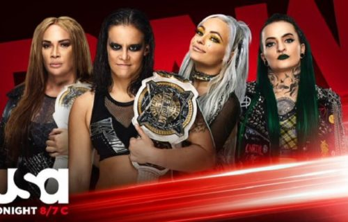 WWE announces women's tag-team title match for Monday Night Raw