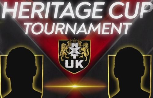 Updated brackets for ongoing WWE NXT UK Heritage Cup Tournament