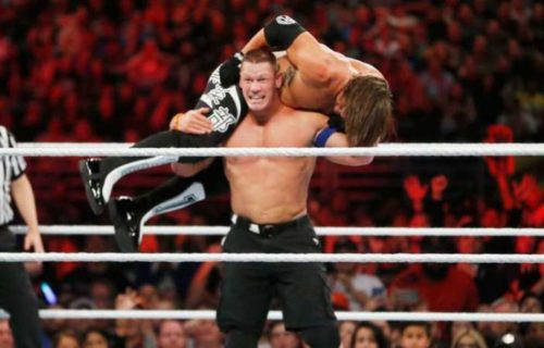 AJ Styles talks how he & John Cena thought of insults to say to each other