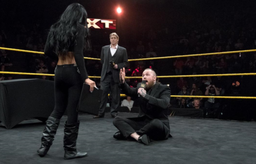 Aleister Black on possibly working with Zelina Vega