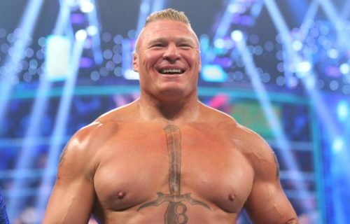 Brock Lesnar AEW Title Match Teased In 2021