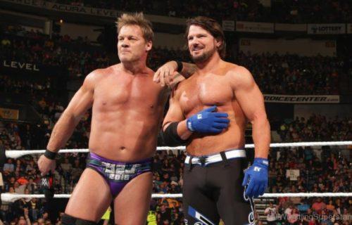 AJ Styles talks how Chris Jericho helped him in WWE