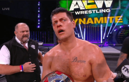 Cody Rhodes win TNT Title on this week's AEW Dynamite
