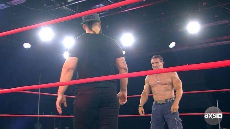 Ken Shamrock Eddie Edwards IMPACT Wrestling
