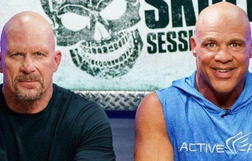 Kurt Angle reveals the original plans for the WWF Title change against Steve Austin