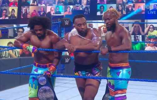 Possible reason for WWE splitting up The New Day