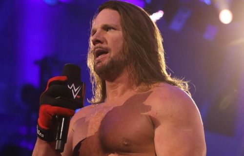 AJ Styles says he wants to face Triple H at WrestleMania