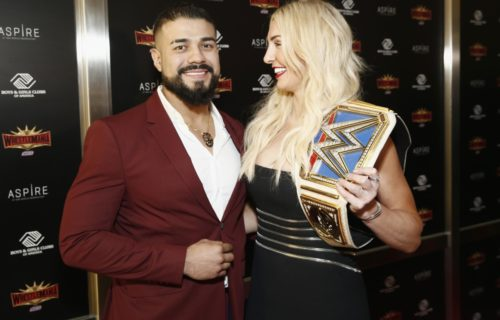 Andrade Reacts To Fan Saying 'Charlotte Looks Like Man'