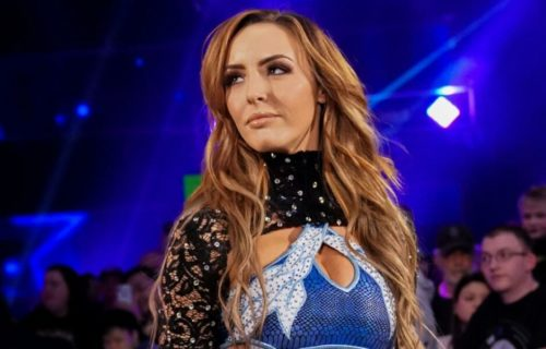 Peyton Royce impresses WWE backstage with her attitude