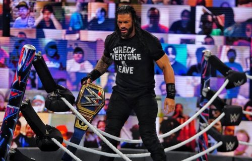Roman Reigns Planned To Wrestle NXT Champion