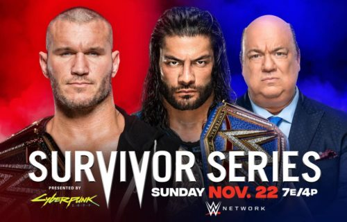 More added to Survivor Series - updated card