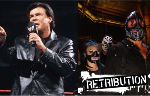 Eric Bischoff slams RETRIBUTION member and the storyline in WWE