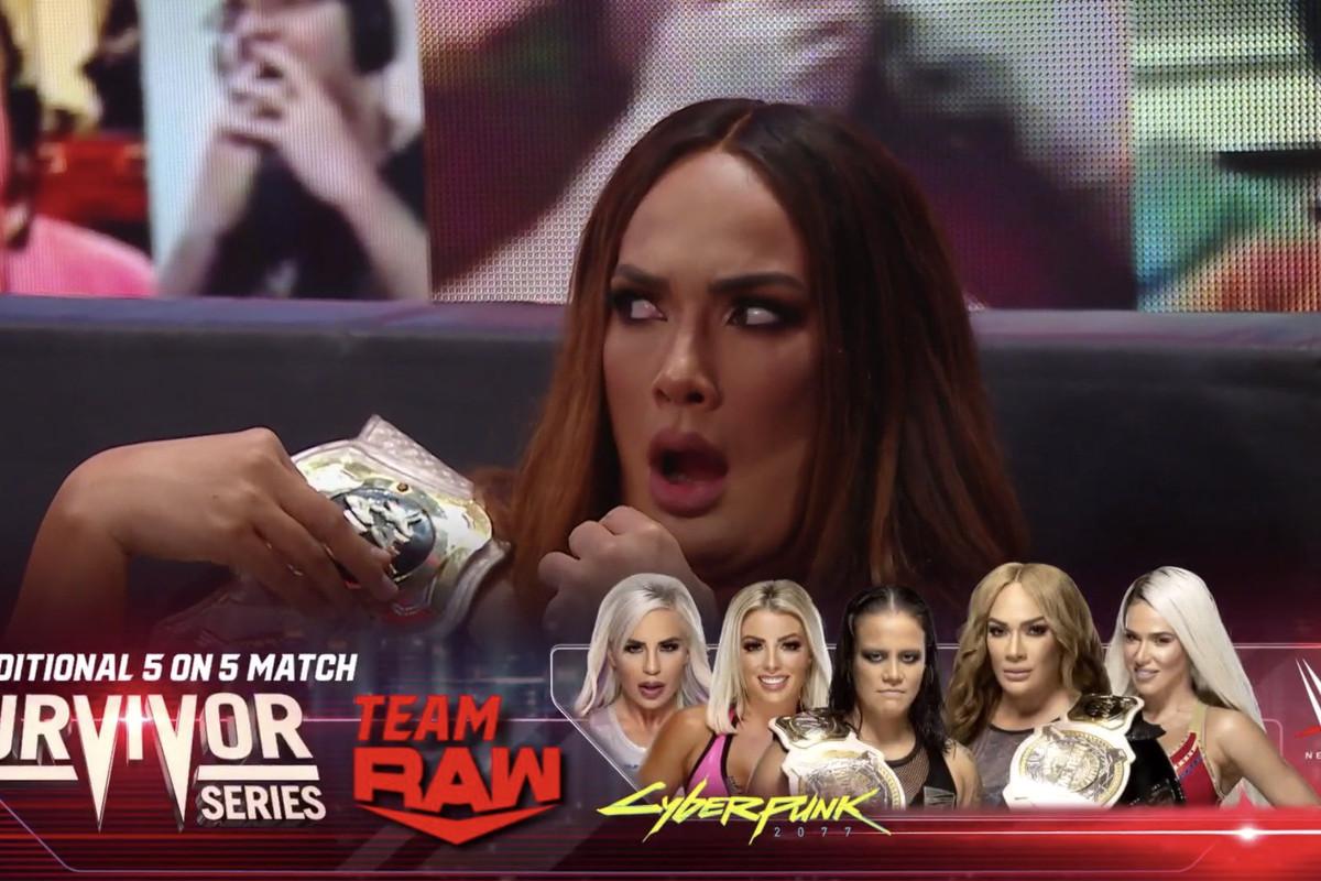 WWE Survivor Series- Team Raw Owes Lana Big for Victory