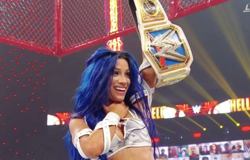 Sasha Banks crowned new Smackdown Women's Champion