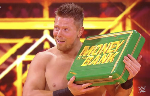 Possible reason why The Miz won the MITB briefcase