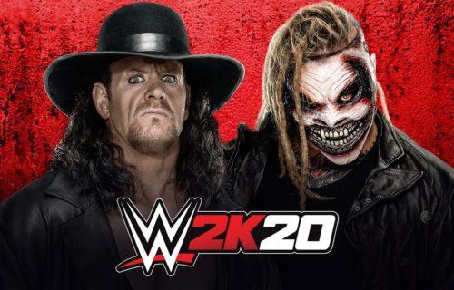 "The Undertaker vs. ""The Fiend"" Bray Wyatt, WWE 2K20 match stimulation"