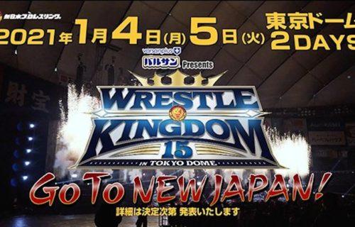 Massive Wrestle Kingdom 15 main event change from Power Struggle