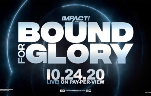 Injury caused change during IMPACT Bound For Glory 2020 match