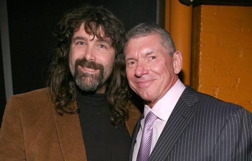 WWE Hall of Famer Mick Foley and Vince McMahon have a secret meeting