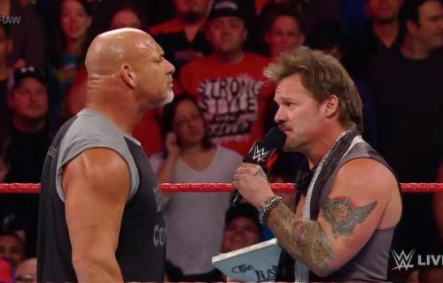 Nothing but Love: Chris Jericho clears the air about Goldberg