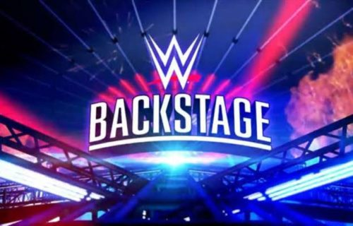 WWE Backstage will air for one night only this Friday