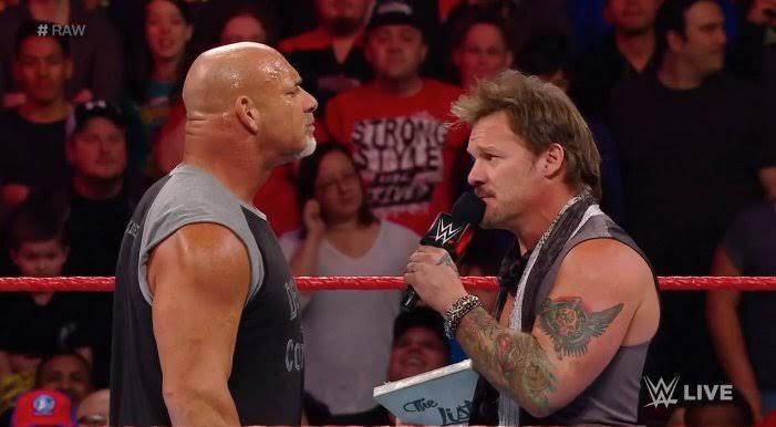 Chris Jericho and Goldberg