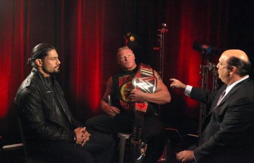 Paul Heyman on comparison between Brock Lesnar and Roman Reigns