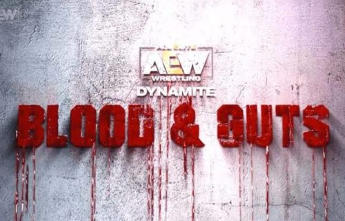 AEW is still considering to work the Blood and Guts match